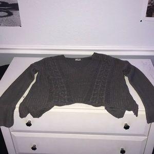 Women's sweater, Long sleeve, V neck